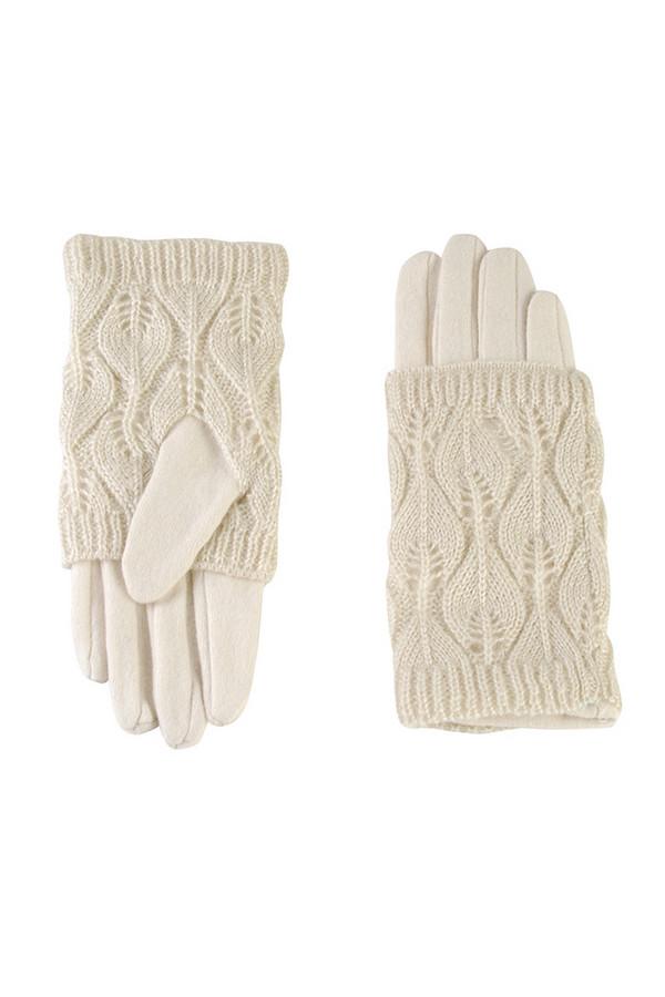Перчатки SabellinoПерчатки<br><br><br>Размер RU: 8<br>Пол: Женский<br>Возраст: Взрослый<br>Материал: шерсть 70%, акрил 30%<br>Цвет: Белый