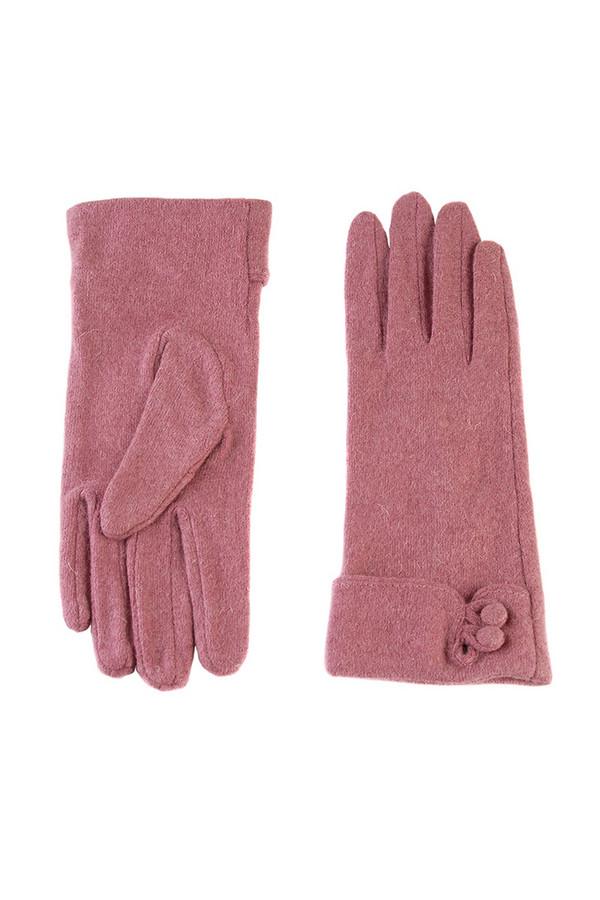 Перчатки SabellinoПерчатки<br><br><br>Размер RU: 7,5<br>Пол: Женский<br>Возраст: Взрослый<br>Материал: шерсть 70%, акрил 30%<br>Цвет: Розовый