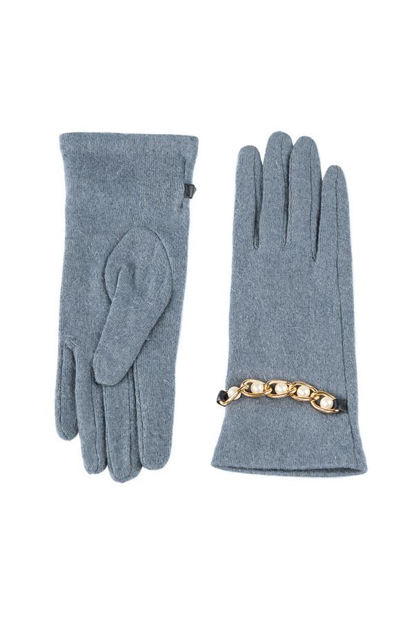 Перчатки SabellinoПерчатки<br><br><br>Размер RU: 7,5<br>Пол: Женский<br>Возраст: Взрослый<br>Материал: шерсть 75%, полиэстер 25%<br>Цвет: Голубой