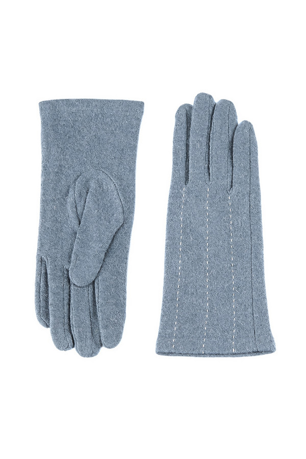 Перчатки SabellinoПерчатки<br><br><br>Размер RU: 8<br>Пол: Женский<br>Возраст: Взрослый<br>Материал: шерсть 75%, полиэстер 25%<br>Цвет: Голубой