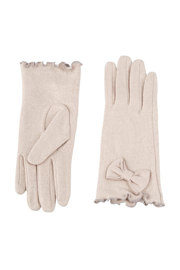 Перчатки SabellinoПерчатки<br><br><br>Размер RU: 7,5<br>Пол: Женский<br>Возраст: Взрослый<br>Материал: шерсть 75%, полиэстер 25%<br>Цвет: Белый