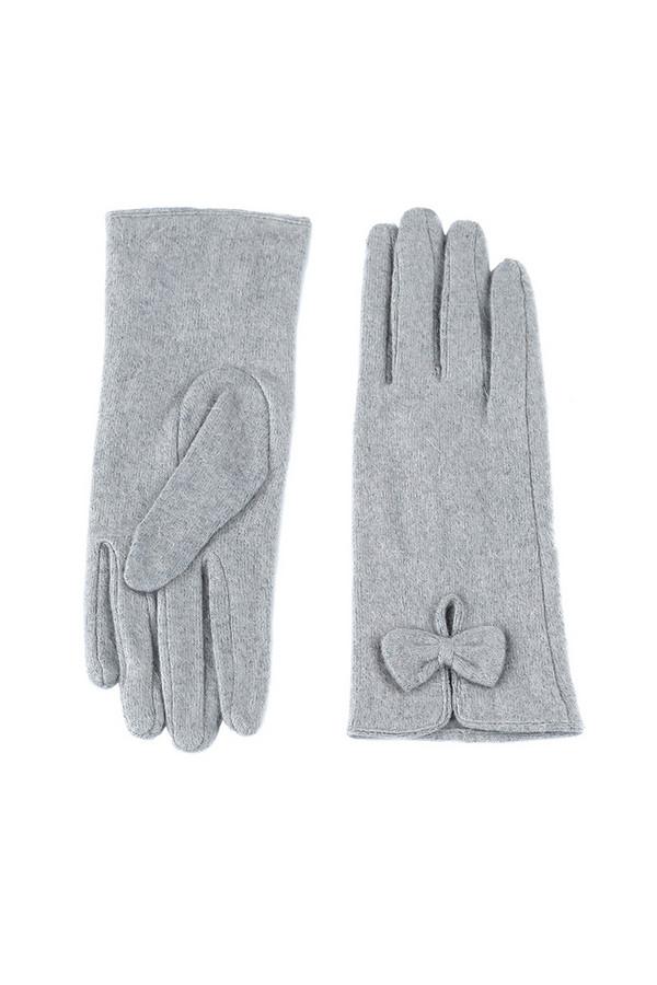 Перчатки SabellinoПерчатки<br><br><br>Размер RU: 8<br>Пол: Женский<br>Возраст: Взрослый<br>Материал: шерсть 75%, полиэстер 25%<br>Цвет: Серый