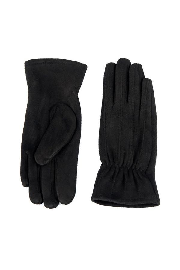 Перчатки SabellinoПерчатки<br><br><br>Размер RU: 8<br>Пол: Женский<br>Возраст: Взрослый<br>Материал: полиэстер 95%, спандекс 5%<br>Цвет: Чёрный
