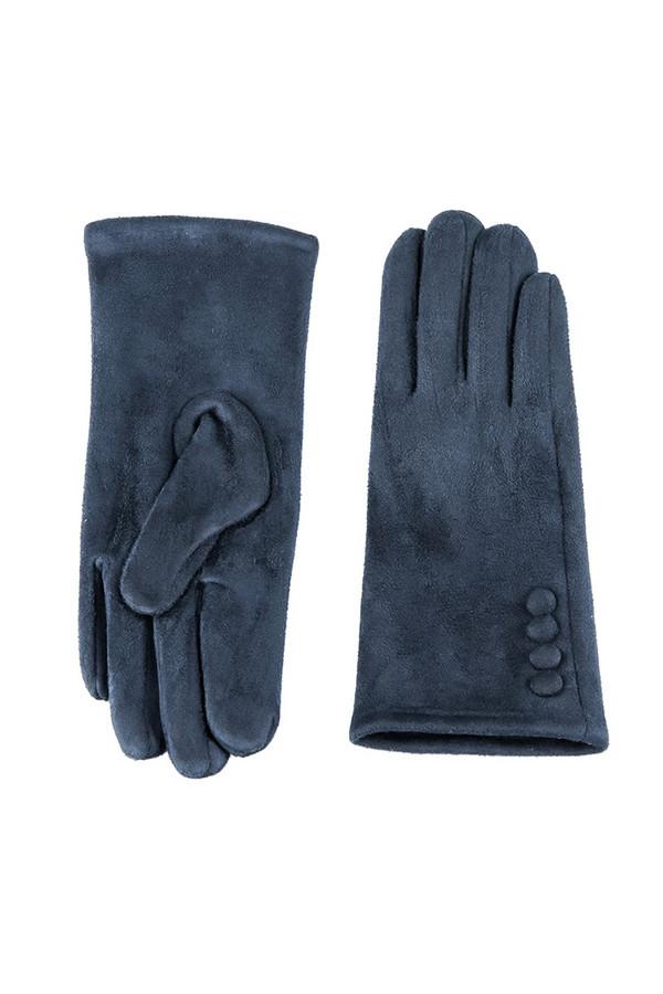 Перчатки SabellinoПерчатки<br><br><br>Размер RU: 7<br>Пол: Женский<br>Возраст: Взрослый<br>Материал: полиэстер 95%, спандекс 5%<br>Цвет: Синий