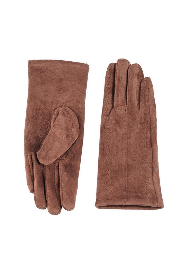 Перчатки SabellinoПерчатки<br><br><br>Размер RU: 7<br>Пол: Женский<br>Возраст: Взрослый<br>Материал: полиэстер 95%, спандекс 5%<br>Цвет: Коричневый