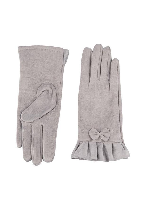 Перчатки SabellinoПерчатки<br><br><br>Размер RU: 7<br>Пол: Женский<br>Возраст: Взрослый<br>Материал: полиэстер 95%, спандекс 5%<br>Цвет: Серый