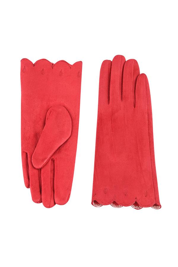 Перчатки SabellinoПерчатки<br><br><br>Размер RU: 8<br>Пол: Женский<br>Возраст: Взрослый<br>Материал: полиэстер 95%, спандекс 5%<br>Цвет: Красный
