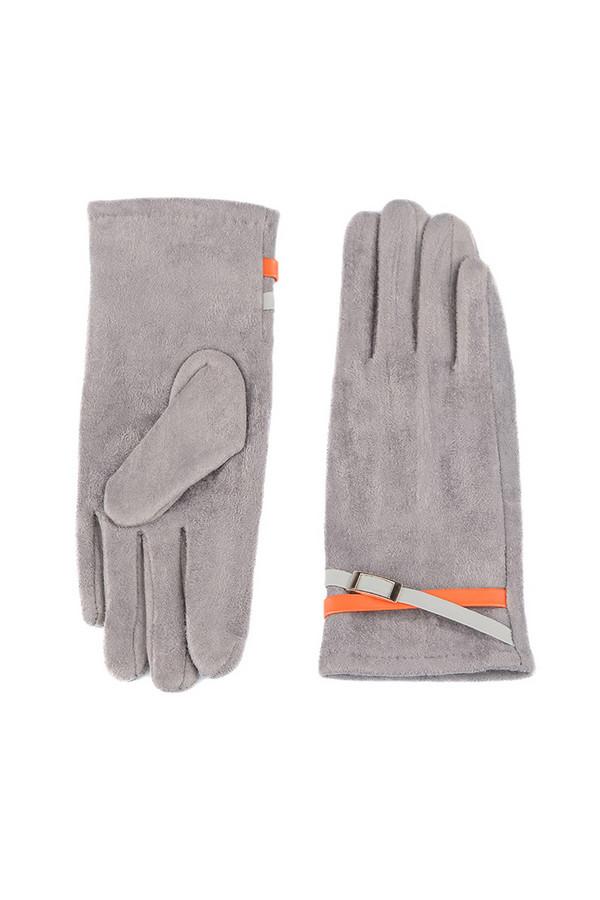 Перчатки SabellinoПерчатки<br><br><br>Размер RU: 7,5<br>Пол: Женский<br>Возраст: Взрослый<br>Материал: полиэстер 95%, спандекс 5%<br>Цвет: Серый