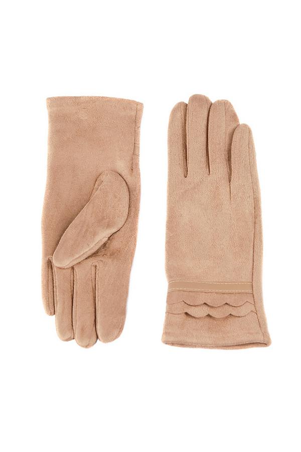 Перчатки SabellinoПерчатки<br><br><br>Размер RU: 8<br>Пол: Женский<br>Возраст: Взрослый<br>Материал: полиэстер 95%, спандекс 5%<br>Цвет: Бежевый