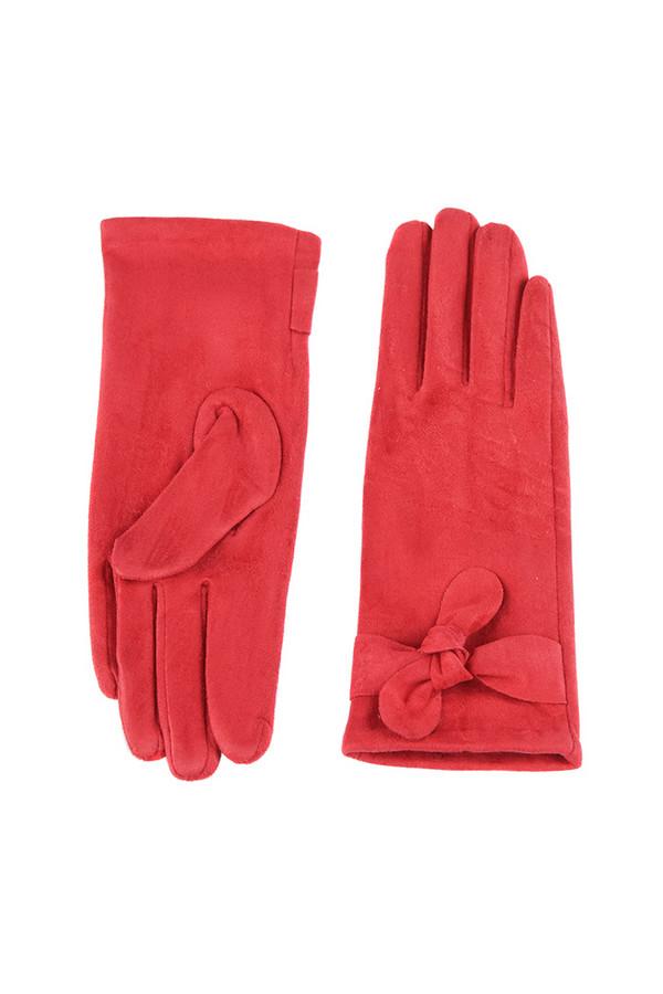Перчатки SabellinoПерчатки<br><br><br>Размер RU: 7,5<br>Пол: Женский<br>Возраст: Взрослый<br>Материал: полиэстер 95%, спандекс 5%<br>Цвет: Красный