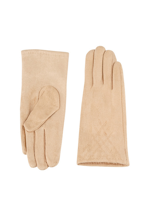 Перчатки SabellinoПерчатки<br><br><br>Размер RU: 7<br>Пол: Женский<br>Возраст: Взрослый<br>Материал: полиэстер 95%, спандекс 5%<br>Цвет: Бежевый