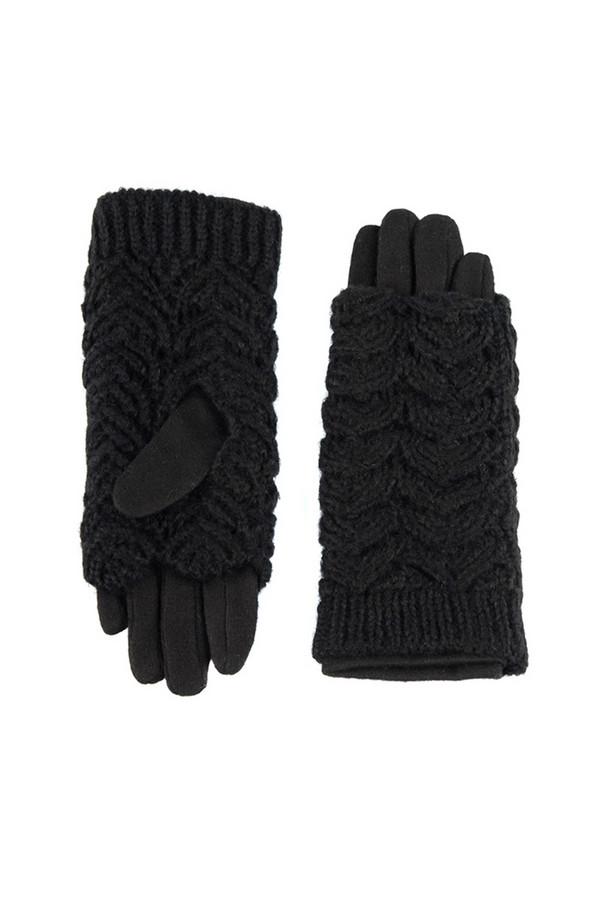 Перчатки SabellinoПерчатки<br><br><br>Размер RU: 7,5<br>Пол: Женский<br>Возраст: Взрослый<br>Материал: акрил 100%, Состав_2 полиэстер 25%, Состав_2 шерсть 75%<br>Цвет: Чёрный