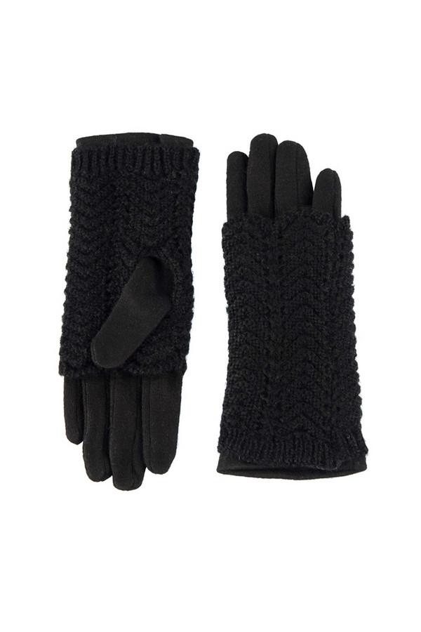 Перчатки SabellinoПерчатки<br><br><br>Размер RU: 8<br>Пол: Женский<br>Возраст: Взрослый<br>Материал: акрил 100%, Состав_2 полиэстер 25%, Состав_2 шерсть 75%<br>Цвет: Чёрный