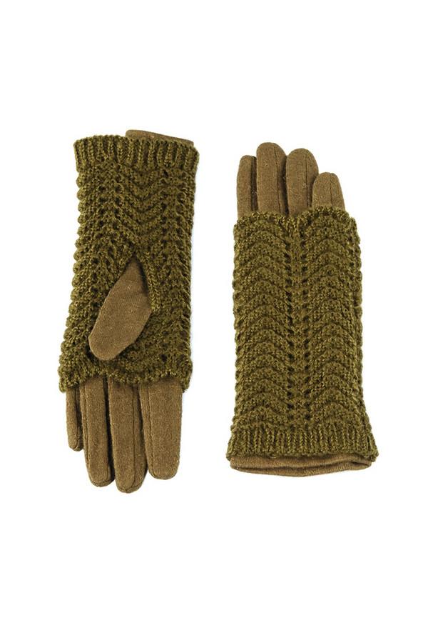 Перчатки SabellinoПерчатки<br><br><br>Размер RU: 8<br>Пол: Женский<br>Возраст: Взрослый<br>Материал: акрил 100%, Состав_2 полиэстер 25%, Состав_2 шерсть 75%<br>Цвет: Зелёный