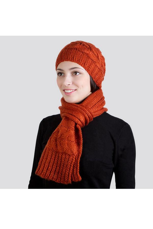 Комплект SabellinoКомплекты<br><br><br>Размер RU: один размер<br>Пол: Женский<br>Возраст: Взрослый<br>Материал: акрил 60%, шерсть 40%<br>Цвет: Оранжевый