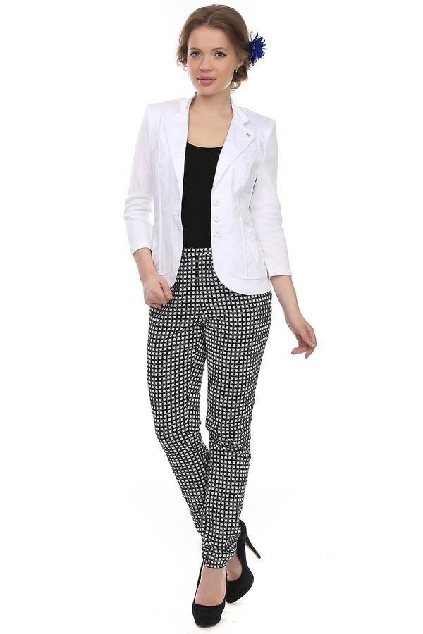 Брюки PezzoБрюки<br>Летние женские брюки от бренда Pezzo. Это легкие брюки средней посадки с оборками на поясе и с низом на резинке. Брюки из такого легкого материала могут стать отличной альтернативой юбке в жаркий летний день. Необычный черно-белый орнамент не позволит ни одному взгляду пройти мимо вас. Брюки выполнены из легкого материала.<br><br>Размер RU: 44<br>Пол: Женский<br>Возраст: Взрослый<br>Материал: полиэстер 100%<br>Цвет: Разноцветный