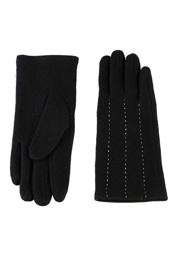 Перчатки SabellinoПерчатки<br><br><br>Размер RU: 8<br>Пол: Женский<br>Возраст: Взрослый<br>Материал: шерсть 70%, акрил 30%<br>Цвет: Чёрный