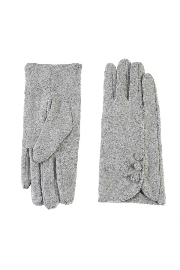 Перчатки SabellinoПерчатки<br><br><br>Размер RU: 8<br>Пол: Женский<br>Возраст: Взрослый<br>Материал: шерсть 70%, акрил 30%<br>Цвет: Серый