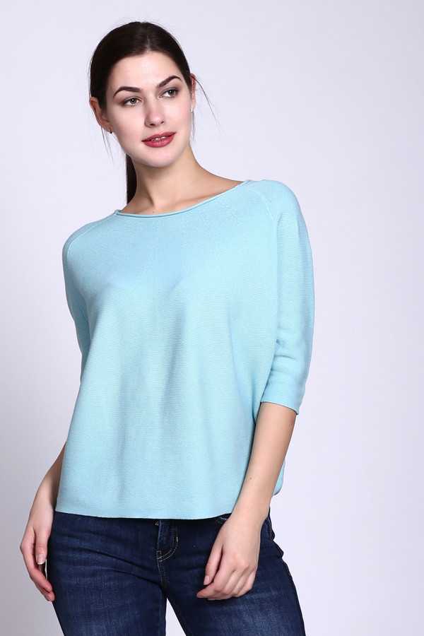 Пуловер Just ValeriПуловеры<br><br><br>Размер RU: 50<br>Пол: Женский<br>Возраст: Взрослый<br>Материал: хлопок 100%<br>Цвет: Голубой