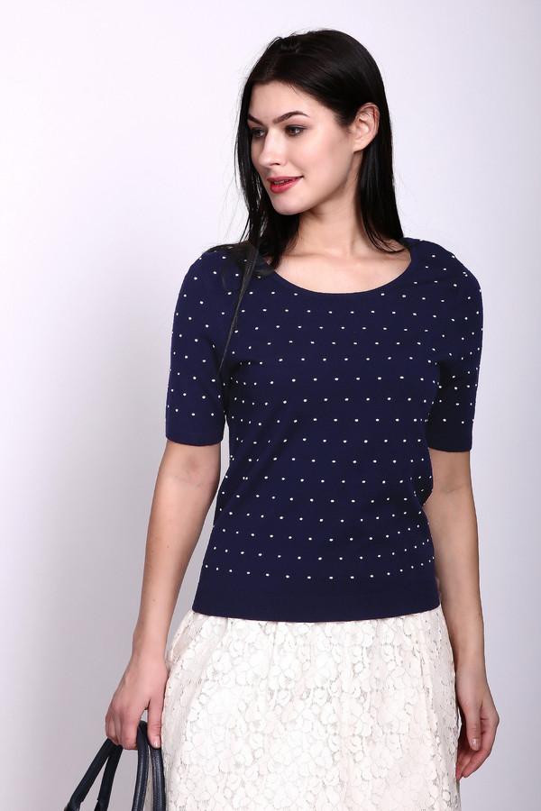 Пуловер PezzoПуловеры<br><br><br>Размер RU: 48<br>Пол: Женский<br>Возраст: Взрослый<br>Материал: вискоза 80%, нейлон 20%<br>Цвет: Синий
