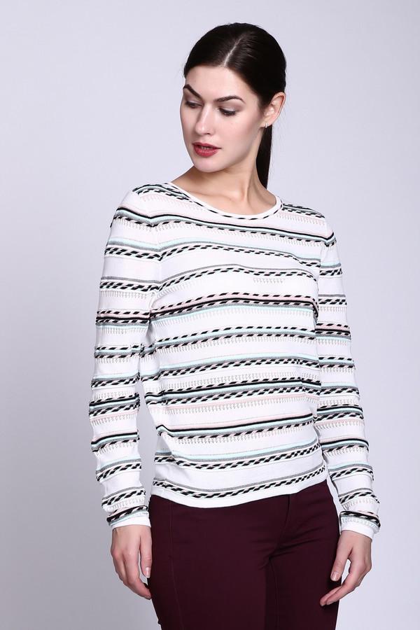 Пуловер PezzoПуловеры<br><br><br>Размер RU: 52<br>Пол: Женский<br>Возраст: Взрослый<br>Материал: хлопок 56%, вискоза 44%<br>Цвет: Белый