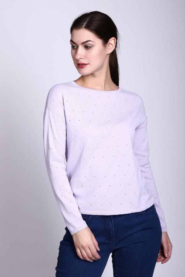 Пуловер PezzoПуловеры<br><br><br>Размер RU: 48<br>Пол: Женский<br>Возраст: Взрослый<br>Материал: хлопок 55%, район 45%<br>Цвет: Сиреневый