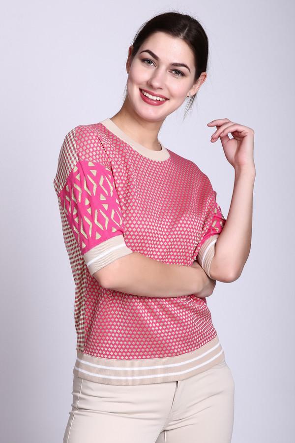 Пуловер Just ValeriПуловеры<br><br><br>Размер RU: 42<br>Пол: Женский<br>Возраст: Взрослый<br>Материал: хлопок 67%, район 33%<br>Цвет: Разноцветный