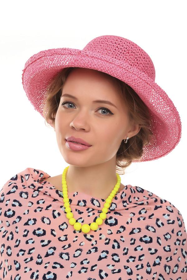 Шляпа PezzoШляпы<br>Женственная шляпа от бренда Pezzo нежного розового цвета. Это изделие выполнено полностью из соломы. Данная модель предназначена для летнего сезона. Шляпа широкополая. Дополнена тканевой вставкой. Защитит от ультрафиолетовых лучей. Оригинальная шляпа будет придаст летнему образу романтичности.<br><br>Размер RU: один размер<br>Пол: Женский<br>Возраст: Взрослый<br>Материал: солома 100%<br>Цвет: Розовый