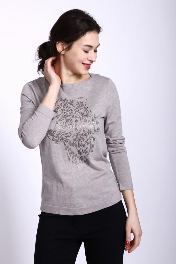 Пуловер Betty BarclayПуловеры<br><br><br>Размер RU: 46<br>Пол: Женский<br>Возраст: Взрослый<br>Материал: вискоза 50%, полиамид 50%<br>Цвет: Серый
