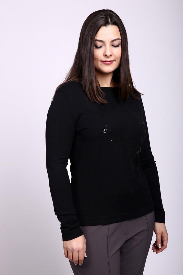 Пуловер Betty BarclayПуловеры<br><br><br>Размер RU: 46<br>Пол: Женский<br>Возраст: Взрослый<br>Материал: вискоза 50%, полиамид 50%<br>Цвет: Чёрный