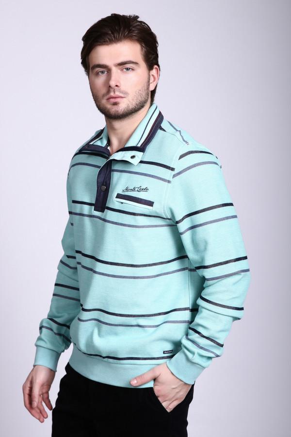 Джемпер Monte CarloДжемперы и Пуловеры<br><br><br>Размер RU: 46-48<br>Пол: Мужской<br>Возраст: Взрослый<br>Материал: хлопок 100%<br>Цвет: Голубой