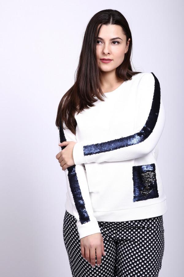 Пуловер Thomas RabeПуловеры<br><br><br>Размер RU: 48<br>Пол: Женский<br>Возраст: Взрослый<br>Материал: эластан 5%, полиэстер 15%, хлопок 80%<br>Цвет: Разноцветный