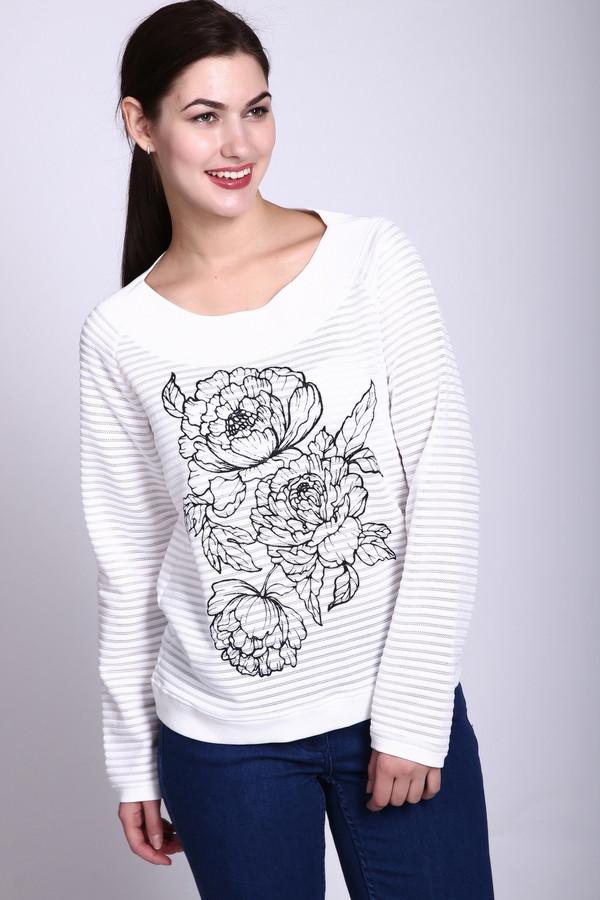 Пуловер LecomteПуловеры<br><br><br>Размер RU: 48<br>Пол: Женский<br>Возраст: Взрослый<br>Материал: полиэстер 100%<br>Цвет: Белый