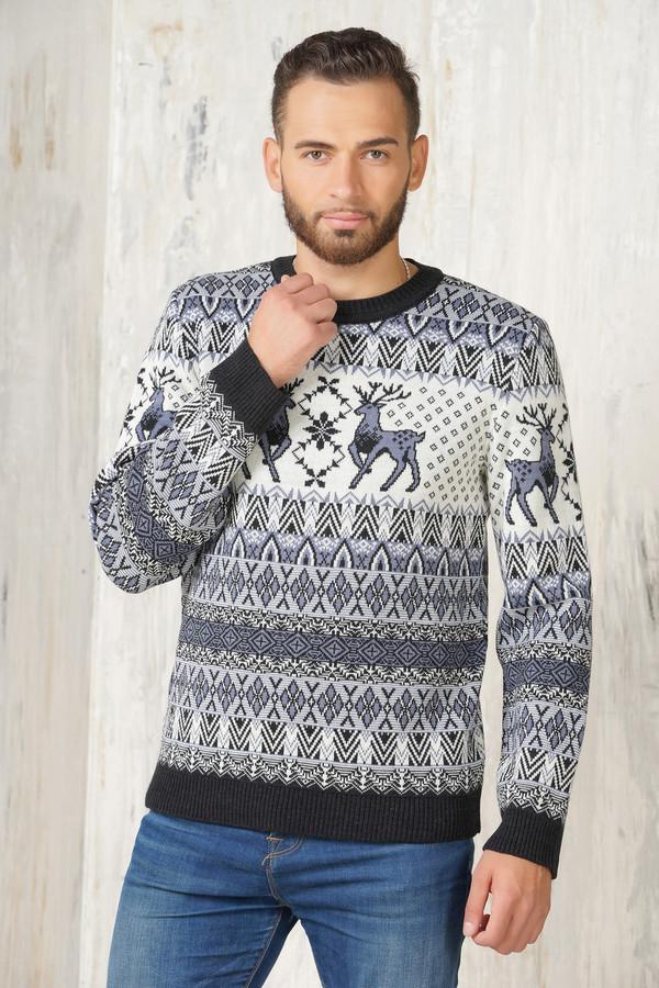 Джемпер VAYДжемперы и Пуловеры<br><br><br>Размер RU: 52<br>Пол: Мужской<br>Возраст: Взрослый<br>Материал: шерсть 50%, пан 50%<br>Цвет: Разноцветный