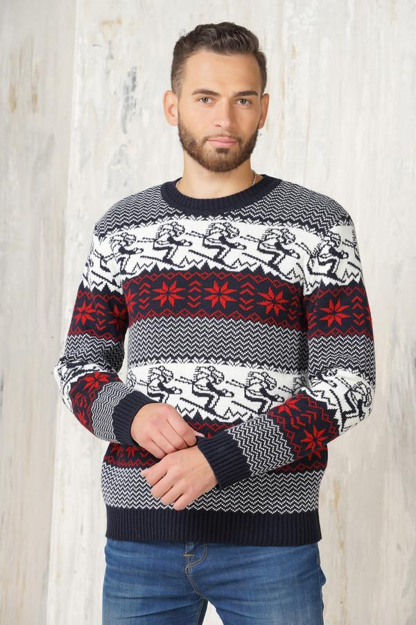 Джемпер VAYДжемперы и Пуловеры<br><br><br>Размер RU: 50<br>Пол: Мужской<br>Возраст: Взрослый<br>Материал: шерсть 50%, пан 50%<br>Цвет: Разноцветный