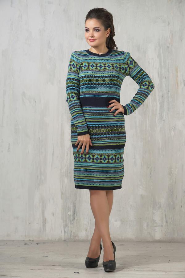Платье VAYПлатья<br><br><br>Размер RU: 52<br>Пол: Женский<br>Возраст: Взрослый<br>Материал: шерсть 50%, пан 50%<br>Цвет: Разноцветный