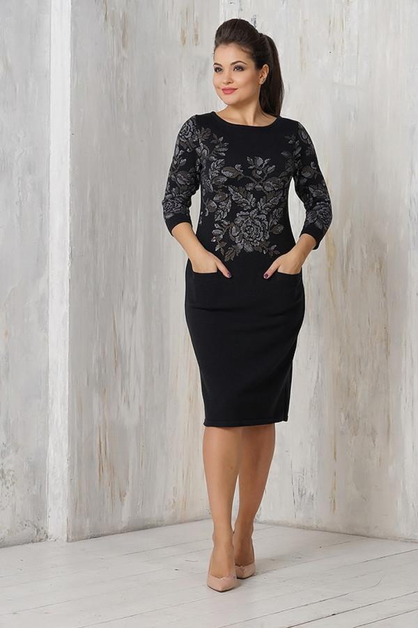 Платье VAYПлатья<br><br><br>Размер RU: 54<br>Пол: Женский<br>Возраст: Взрослый<br>Материал: шерсть 50%, пан 50%<br>Цвет: Чёрный