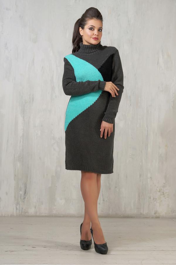 Платье VAYПлатья<br><br><br>Размер RU: 42<br>Пол: Женский<br>Возраст: Взрослый<br>Материал: вискоза 20%, шерсть 30%, пан 50%<br>Цвет: Разноцветный