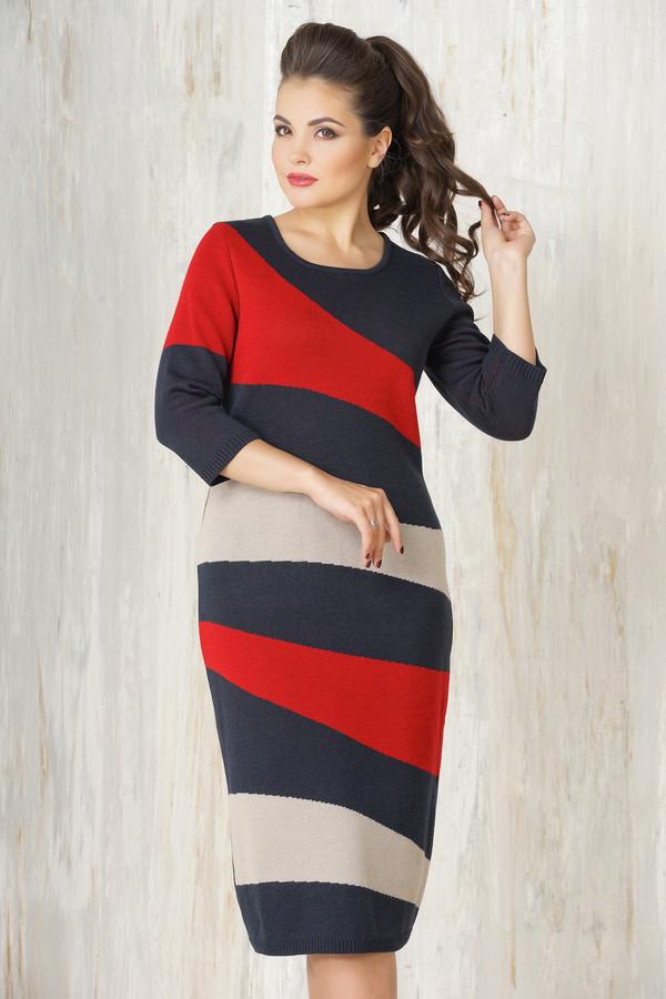Платье VAYПлатья<br><br><br>Размер RU: 46<br>Пол: Женский<br>Возраст: Взрослый<br>Материал: шерсть 50%, пан 50%<br>Цвет: Разноцветный