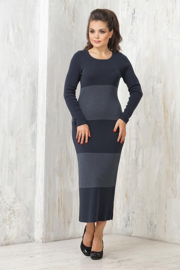 Платье VAYПлатья<br><br><br>Размер RU: 48<br>Пол: Женский<br>Возраст: Взрослый<br>Материал: шерсть 50%, пан 50%<br>Цвет: Синий
