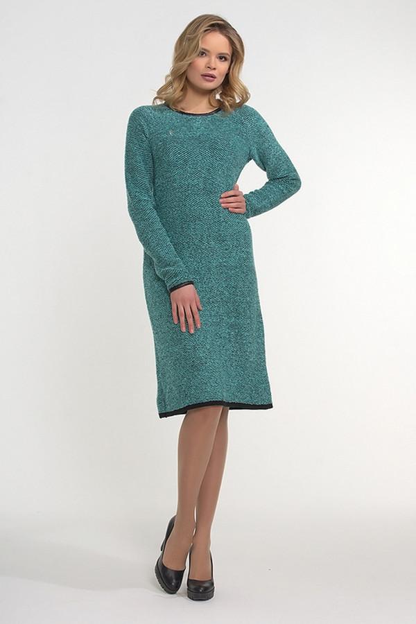 Платье VAYПлатья<br><br><br>Размер RU: 52<br>Пол: Женский<br>Возраст: Взрослый<br>Материал: вискоза 20%, шерсть 30%, пан 50%<br>Цвет: Зелёный