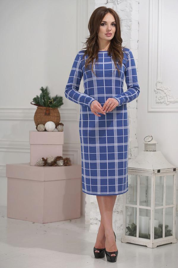 Платье VAYПлатья<br><br><br>Размер RU: 50<br>Пол: Женский<br>Возраст: Взрослый<br>Материал: шерсть 50%, пан 50%<br>Цвет: Синий