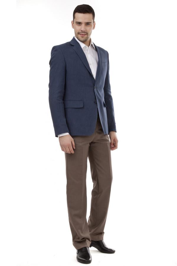 Классические брюки PezzoКлассические брюки<br>Мужские классические брюки от бренда Pezzo темно-бежевого цвета. Эти брюки средней посадки. Изделие дополнено: поясом с шлевками для ремня, двумя боковыми карманами, двумя прорезными карманами с пуговицами и классическими стрелками. Центральная застежка-молния с крючком-петля и пуговицей. Хорошо будут смотреться с рубашкой и пиджаком.<br><br>Размер RU: 56<br>Пол: Мужской<br>Возраст: Взрослый<br>Материал: вискоза 20%, полиэстер 80%<br>Цвет: Бежевый