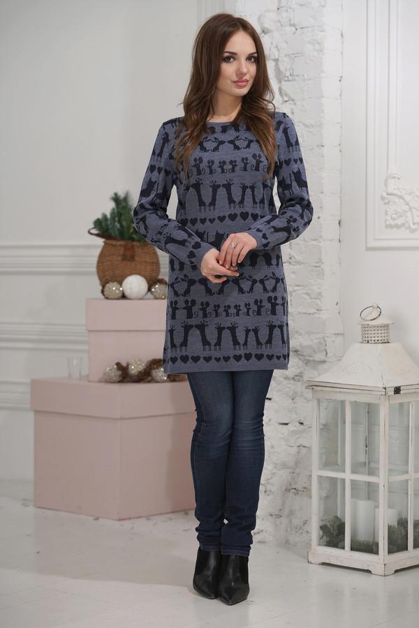 женский пуловер vay, синий