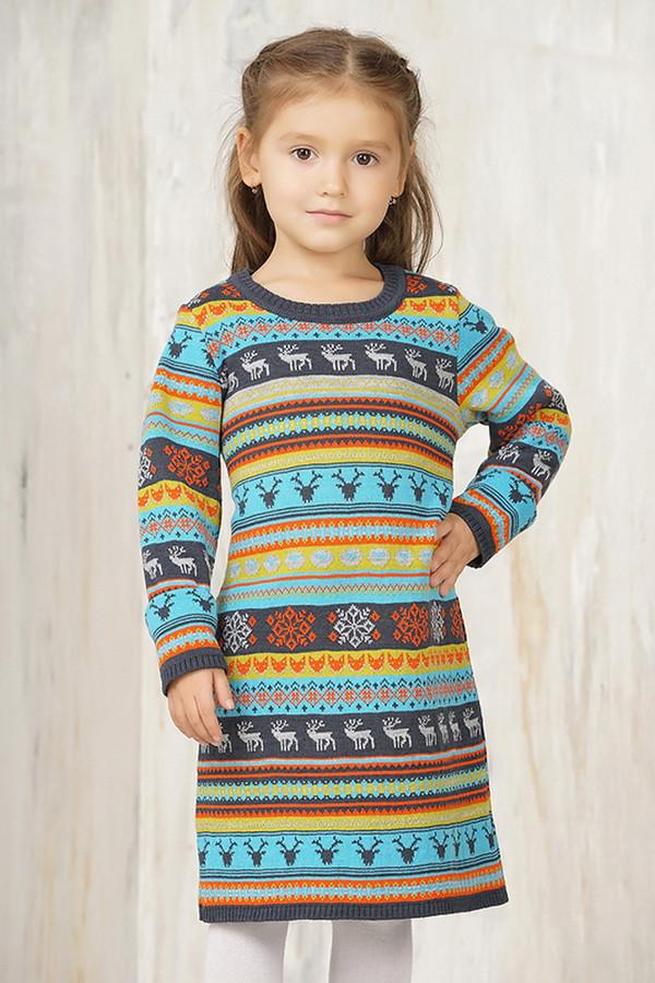 платье vay для девочки, разноцветное