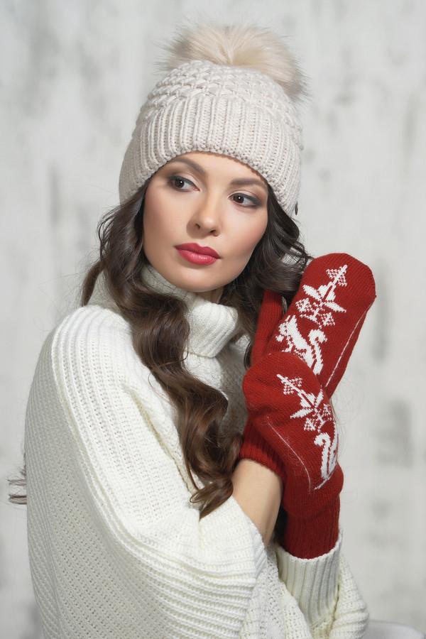 женские перчатки vay, красные