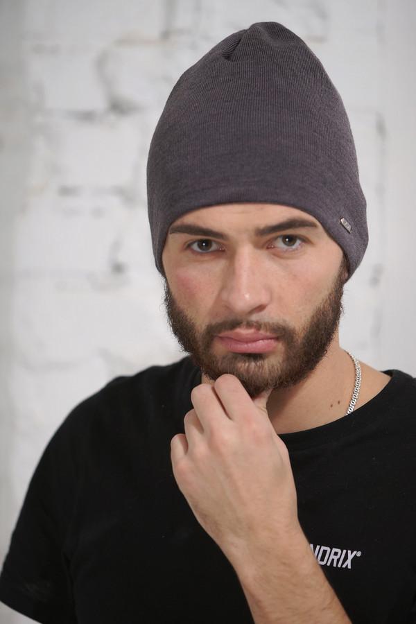 мужская шапка vay, серая
