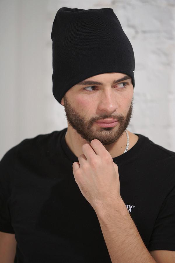 мужская шапка vay, черная