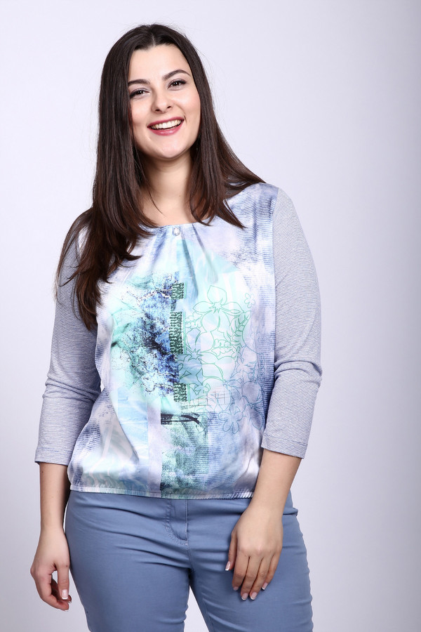 женская футболка rabe collection, разноцветная