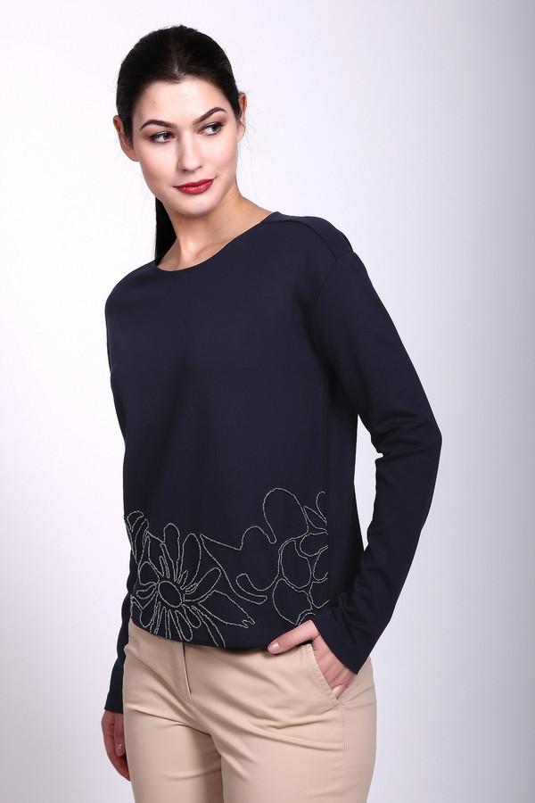 Пуловер Gerry WeberПуловеры<br><br><br>Размер RU: 52<br>Пол: Женский<br>Возраст: Взрослый<br>Материал: вискоза 70%, эластан 5%, полиэстер 25%<br>Цвет: Синий
